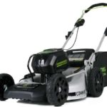 greenworks 21 inch push mower with lithium-ion battery model gm210