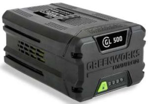 greenworks 500 battery