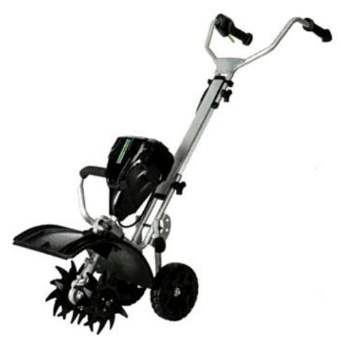 greenworks battery powered electric cultivator model #gtl100