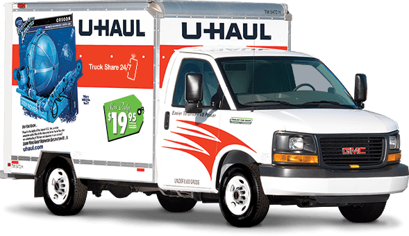 u-haul 10 foot mini mover rental truck