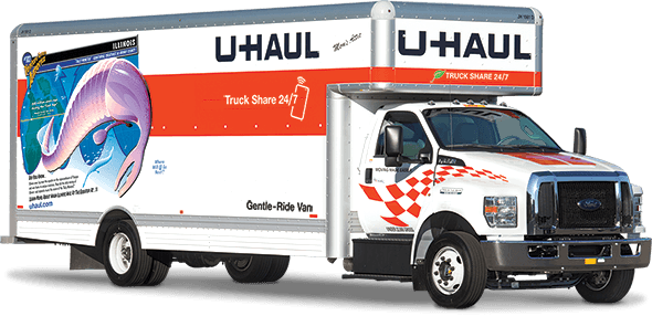 u-haul 26 foot super mover truck rental