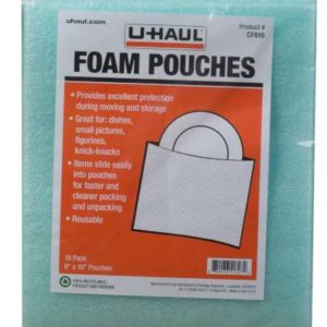 cushion foam pouches 8x10 inches