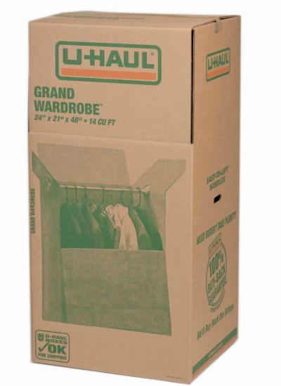 u-haul grand wardrobe box