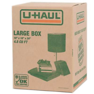 u-haul large moving box