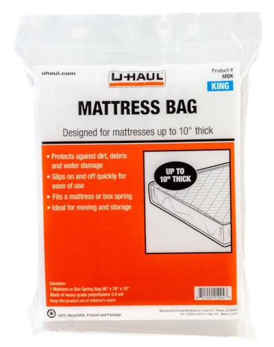 matress bag cover for king size mattress when moving or needing protection