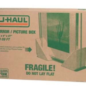 u-haul mirror and picture box