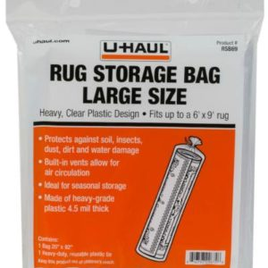 large sized rug storage bag