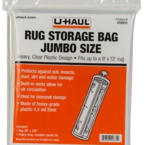 jumbo sized rug storage bag