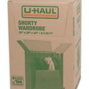 shorty wardrobe box