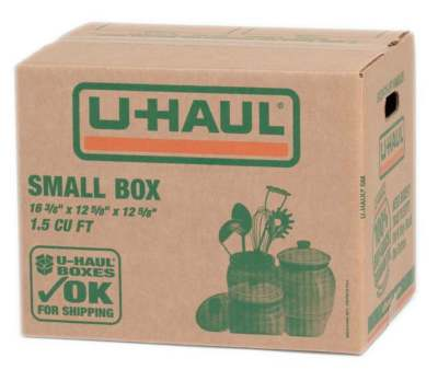 u-haul small moving box