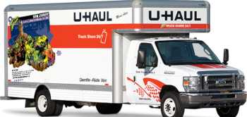 20 foot u-hual family mover truck