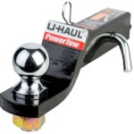 towing hitch with 2 inch ball