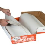 plain wrapping paper in a box