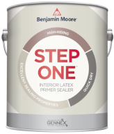 benjamin moore step one primer and sealer