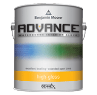 benjamin moore advance high gloss paint can