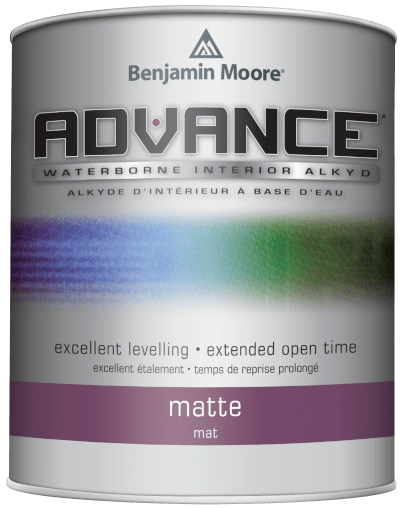 benjamin moore advance paint can