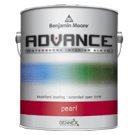 Benjamin moore advance pearl finish paint can