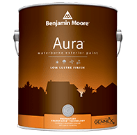 benjamin moore exterior low lustre flat finish paint can