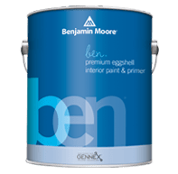 benjamin moore ben eggshell finish paint can