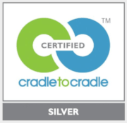 seal of certification from cradle to cradle silver