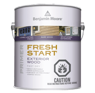 benjamin moore fresh start exterior wood alkyd primer can