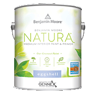 benjamin moore natura eggshell finish paint can