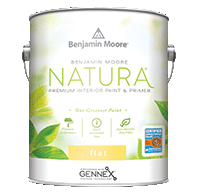 benjamin moore natura flat finish paint can