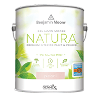 benjamin moore natura pearl finish paint can