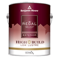 benjamin moore regal select high build exterior paint can
