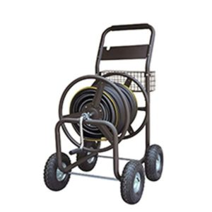 hose reel cart with 400 feet capacity