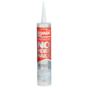 lepage no more nails ultimate adhesive