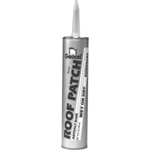 Geocel ROOF PATCH GC41803 Roof Cement, Liquid Cartridge