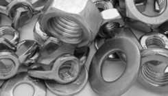 nuts and washers