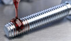 structural adhesive flowing on bolt