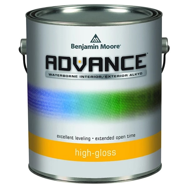 Benjamin moore advance high-gloss paint can