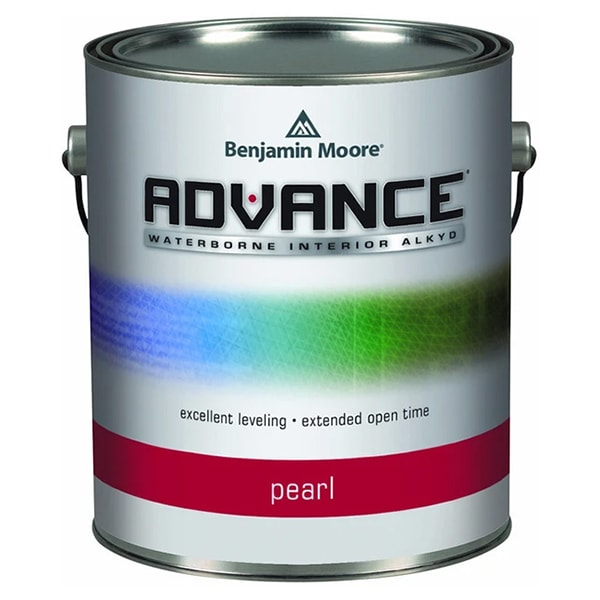 Benjamin Moore Advance Pearl Sheen paint can