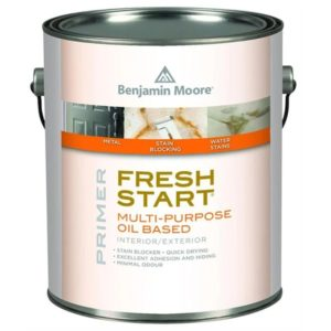 benjamin moore fresh start oil based primer