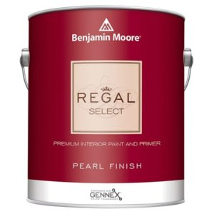 benjamin moore regal pearl sheen paint can
