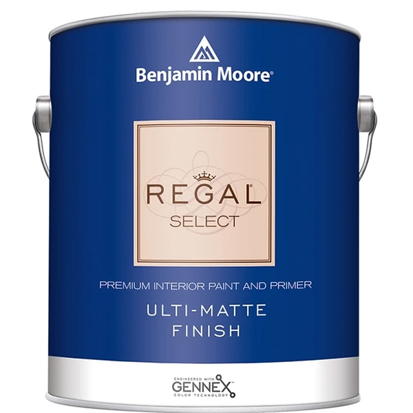 benjamin moore regal ulti-matte sheen paint can