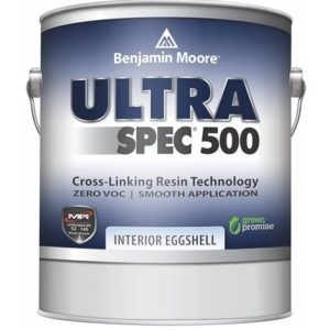 benjamin moore ultra spec eggshell sheen paint can