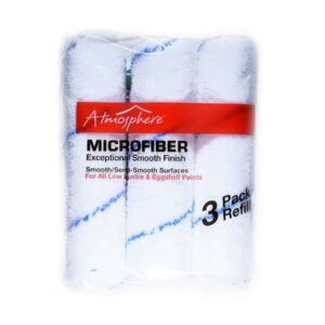3 pack of microfiber paint rollers