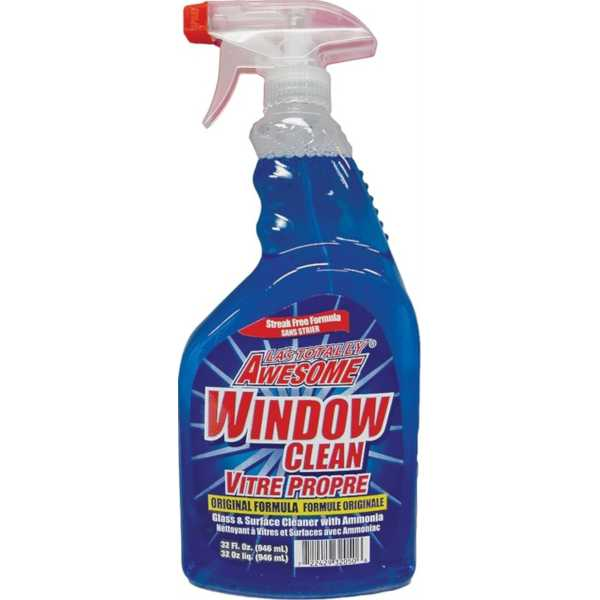 awesome window cleaner 32 ounce bottle