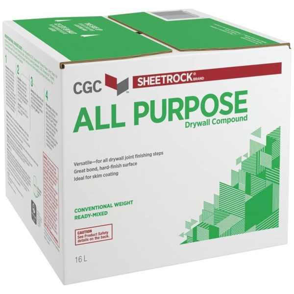 cgc brand drywall compound 16 litre box