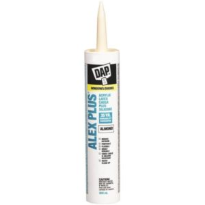 dap alex plus acrylic almond colour caulking