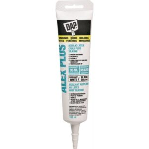 dap alex plus acrylic latex caulking