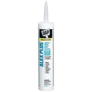 dap paintable acrylic latex caulking