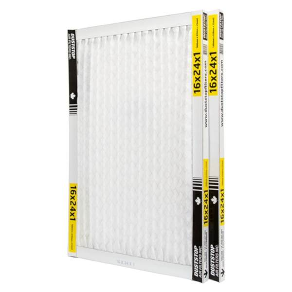 duststop electrostatic furnace filter 16x24x1 pack of 2