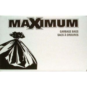 maximum industrial grade garbage bags