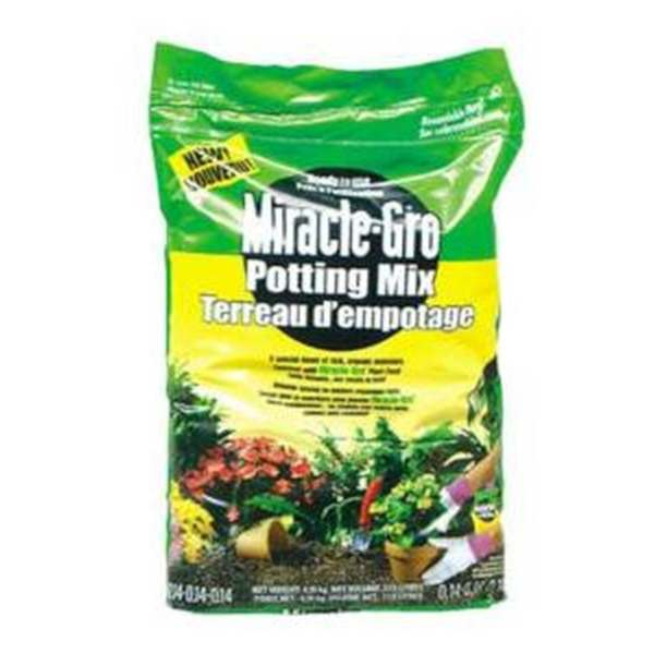 miracle gro potting mix