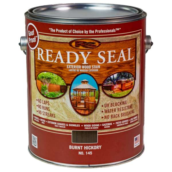 ready seal burnt hickory